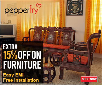 Pepperfry discount coupons