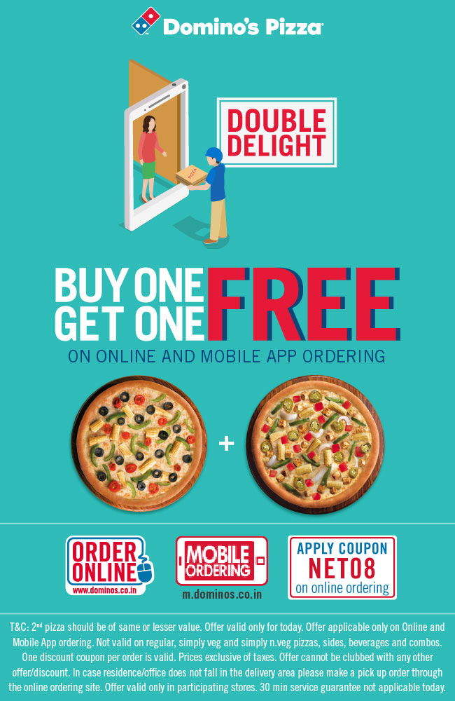 Buy One Get One Free Pizzas - Big Earn Money
