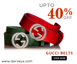 Deals | Upto 40% off Gucci Belts